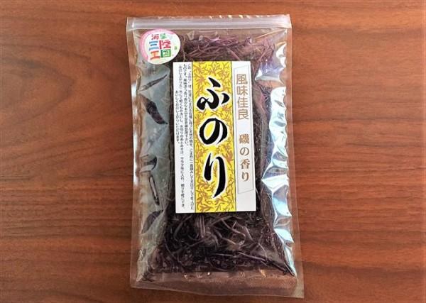 岩手県で購入した「ふのり」