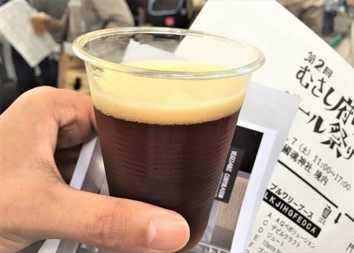 府中ビール祭りのクラフトビール